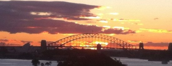 Sydney Harbour at Sunset juliasmith
