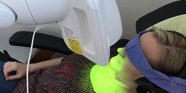 The Green Ray light Therapy